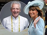Carole Middleton with the Dr Dukan