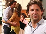 The Wolf Pack are on the prowl again: Bradley Cooper locks lips on the set of The Hangover Part III
