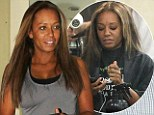 Nothing Scary about her! Mel B shows her natural beauty as she goes make-up free... but can't resist getting her hair done