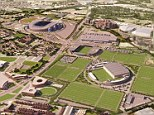 Two years to go: The development is scheduled to be completed by 2014