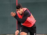 Back in the game: Sergio Aguero is in contention to face Stoke on Saturday