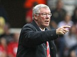 Still got it: Wayne Rooney says that there is nothing worse than receiving the 'hairdryer' from Sir Alex Ferguson