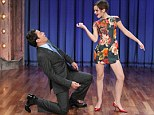 Baby, she's got it! Little Hermione is all grown up as Emma Watson puts Jimmy Fallon through his paces