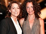 Here come the brides: Singer and songwriter Brandi Carlile (left) will marry Catherine Shepherd this weekend