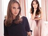 Natalie Portman poses for Dior campaign