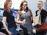 She's dressed down for a big reunion! Marcia Cross opts for jeans and flats as she meets up with former Melrose Place stars