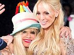 Set for the small screen: Betsey Johnson with daughter Lulu on Tuesday evening at New York Fashion Week