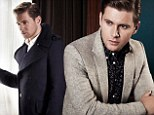 That might impress the Earl! Downton Abbey chauffeur Allen Leech looks just spiffing in new fashion shoot