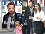 'I'm not very present': Ben Affleck confesses Jennifer Garner does the hard work raising their children