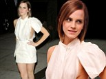 Emma Watson flashes her sideboob AGAIN... but this time it's deliberate as she sports revealing dress for screening