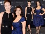 Star power: Olivia Wilde and America Ferrera bond at screening of their new charity film