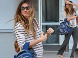 A radiant Gisele Bundchen shows off her pregnancy style in the Big Apple