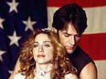 So close: Rupert Everett and Madonna before their falling out
