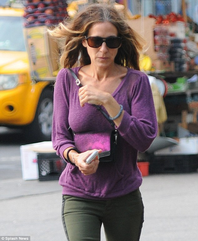 Working mother: In addition to her fashion icon status and motherhood, SJP is still in front of the camera
