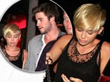 'Quality fiancé time': Miley Cyrus steps out with Liam Hemsworth... after tweeting about lack of passion