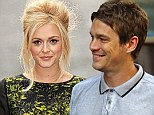 Wedding bells: Fearne Cotton revealed that she and Jesse Wood plan to marry