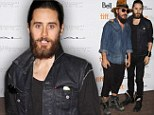 That's a lot of hair you've got there! Jared Leto and his brother sport matching bushy beards at Toronto premiere
