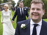 James Corden weds Julia Carey in lavish £250,000 ceremony in Somerset... and there were no shortage of famous friends on hand to help celebrate