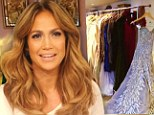 Racks of clothes, rows of Manolos and THAT Versace dress: Jennifer Lopez lets cameras into her closet for the first time