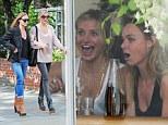 'Girls Virgo lunch': Stella McCartney enjoys a giggly birthday lunch with Cameron Diaz