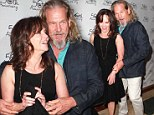 Together again: Sally Field and Jeff Bridges attended Theatre West's 50th Anniversary Gala