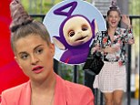 'It¿s my Teletubby look, I love it': Kelly Osbourne shows off her unusual hairstyle as she sits down for a chat on Lorraine