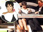 Do you like me gift wrapped? Kris Jenner wears dress with a giant white bow as she attends charity event with husband Bruce