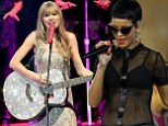 Battle of the pop princesses! Rihanna and Taylor Swift lead nominations for the 2012 MTV EMA Awards