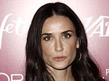 Demi Moore sports a much lower brow
