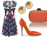 Dress, £179, reiss.co.uk Courts, £130, thecorner.co.uk Bag, £45, aftershock plc.com Earrings, £39, goldsmiths.co.uk