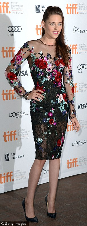 Moving on: Kristen Stewart made her first red carpet appearance since the Rupert Sanders scandal on Thursday night at the On The Road premiere during the Toronto International Film Festival