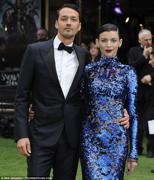 Can they last the distance? Liberty, pictured here at the Snow White And The Huntsman premiere in May, has still not revealed whether she will remain married to Rupert