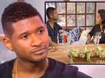 Usher cried as he talked to Oprah Winfrey about the tragic death of his stepson Kile, his recent custody battle and divorce on her show Next Chapter