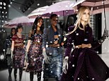 Straight from the runway: Fashionistas will be able to view Burberry Prorsum Womenswear Spring/Summer 2013 Show as it happens