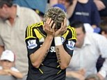 Not again: Fernando Torres was unable to grab a goal against QPR on Saturday