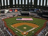 A raunchy couple have been caught by hundreds of fans having sex in a toilet cubicle during a baseball match at the Yankees Stadium (file picture)