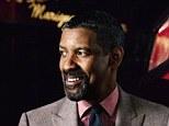 Leading man: Denzel Washington suits up for GQ magazine