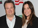 Ready to mingle: Eric Stonestreet has split form his girlfriend of three years Katherine Tokarz