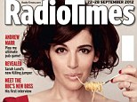 Thinner than ever: Nigella Lawson cut a very slim figure on the cover of the new issue of Radio Times as she insists she doesn't think thinner people are healthier