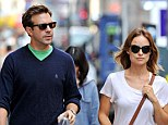 Jason Sudeikis and Olivia Wilde out and about in New York