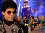 U Got The Look! Prince flaunts natural afro as he returns to his roots in rare appearance