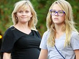 The apple doesn't fall far from the tree! Reese Witherspoon's daughter Ava, 13, is the spitting image of her mother as they step out for dinner