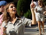 Now Maria Menounos leads a flash mob in the new 'Gangnam Style' dance craze