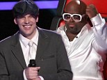Turning tragedy into triumph: Cee Lo Green makes an orphaned contestant's dream come true on The Voice... just one week after his grandfather dies