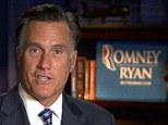 Damage control: Romney responded quickly to the Mother Jones secret tape saying his remarks were not 'elegantly stated'