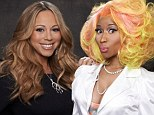 'How are we going to feud in two days?' Mariah Carey shrugs off reports of conflict with fellow American Idol judge Nicki Minaj
