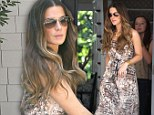 Kate Beckinsale dropping off her daughter Lily Mo Sheen at a friends house in Pacific Palisades