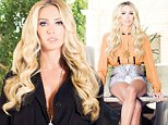 Lonely girl in LA: Petra Ecclestone admits she misses friends and family back in London as she shows off her huge 123-room home in new magazine shoot