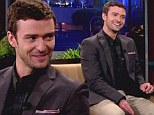 Justin Timberlake appears on The Tonight Show with Jay Leno