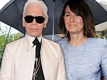 'The mother is sexier than the daughters': Karl Lagerfeld now gives his verdict on Middleton matriarch Carole, 57, after saying he 'doesn't like Pippa's face'